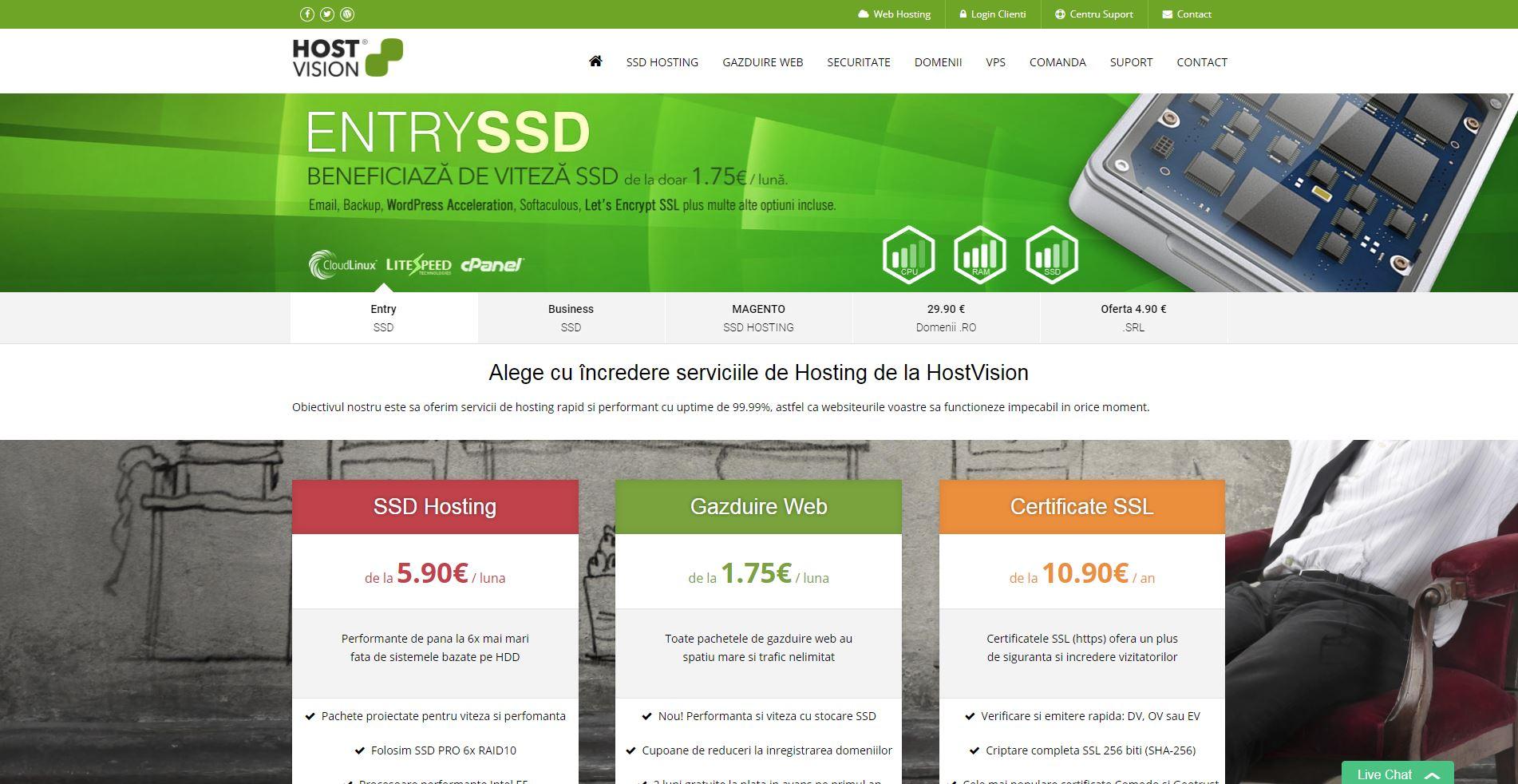 HostingSSD – Calitate pentru blogurile de fotografie