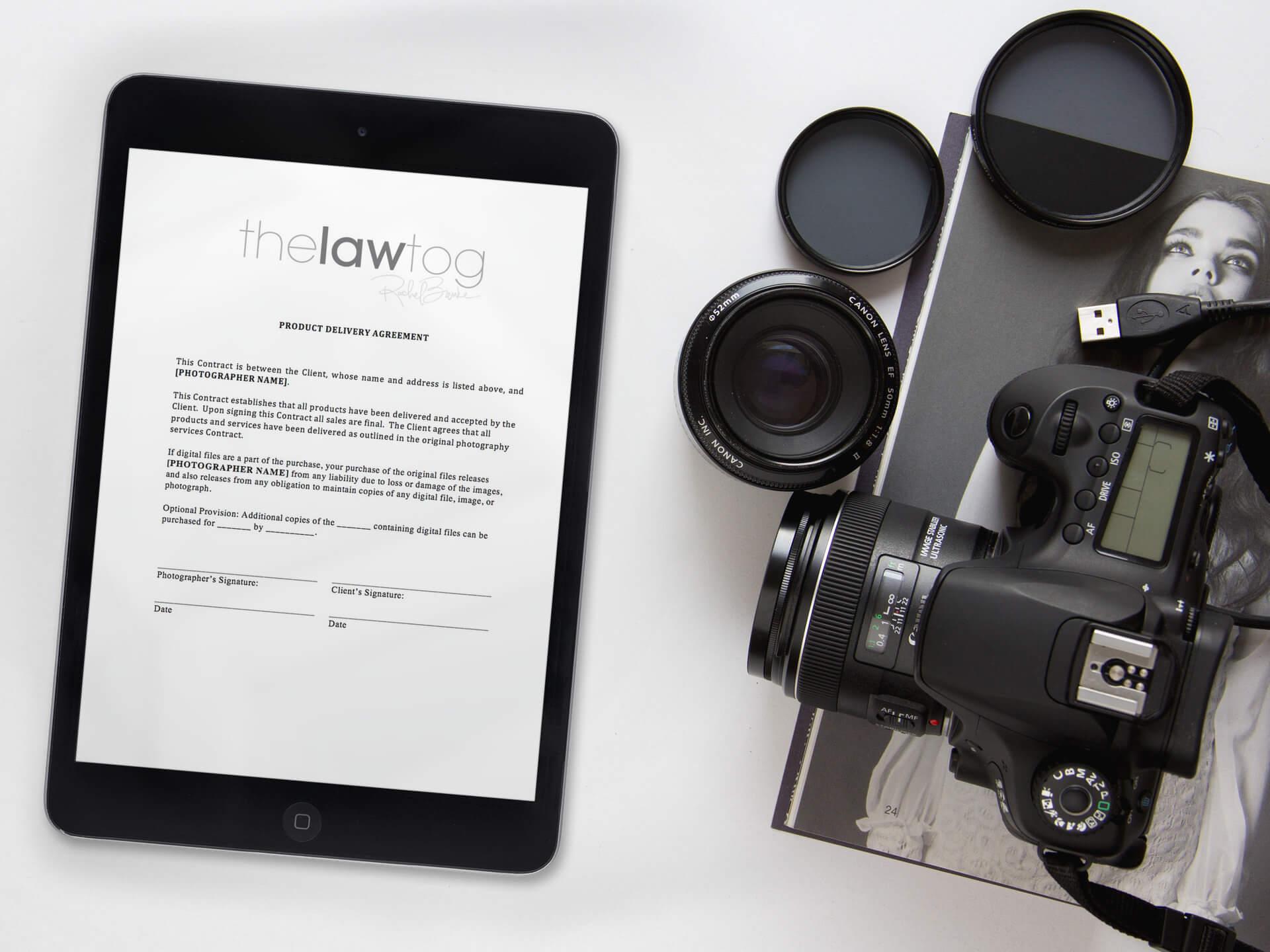 Fotograf cu contract legal si factura