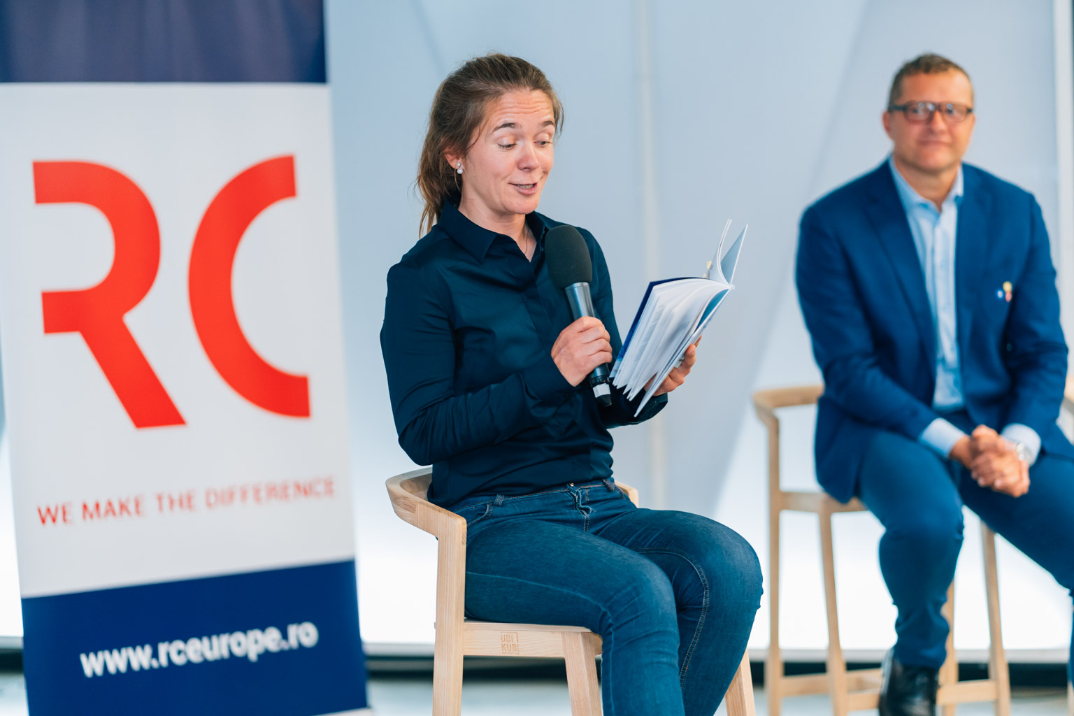 Lansare Carte – RC Europe – Kateřina Mandulová