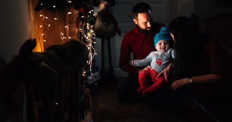 Fotografii de Craciun. Clipe in familie si cea mai asteptata sedinta foto