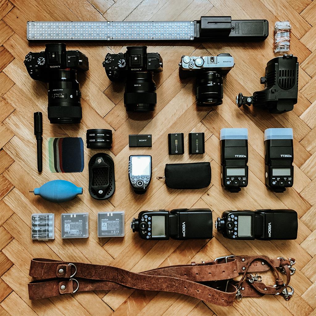 trusa foto - fotograf de nunta - echipament fotografie de nunta
