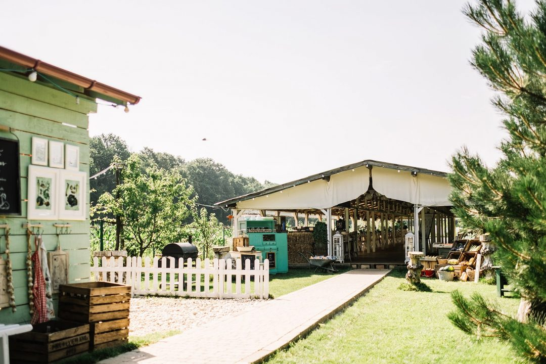 the wedding house - nunta in aer liber - nunta in gradina
