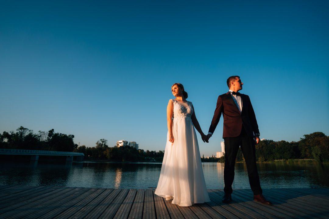 fotograf de nunta - sedinta foto parcul Bordei - Fotografie de nunta