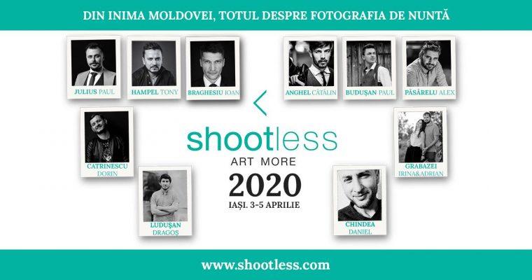 Invitatie Shootless 2020 – Concurs de fotografie de nunta