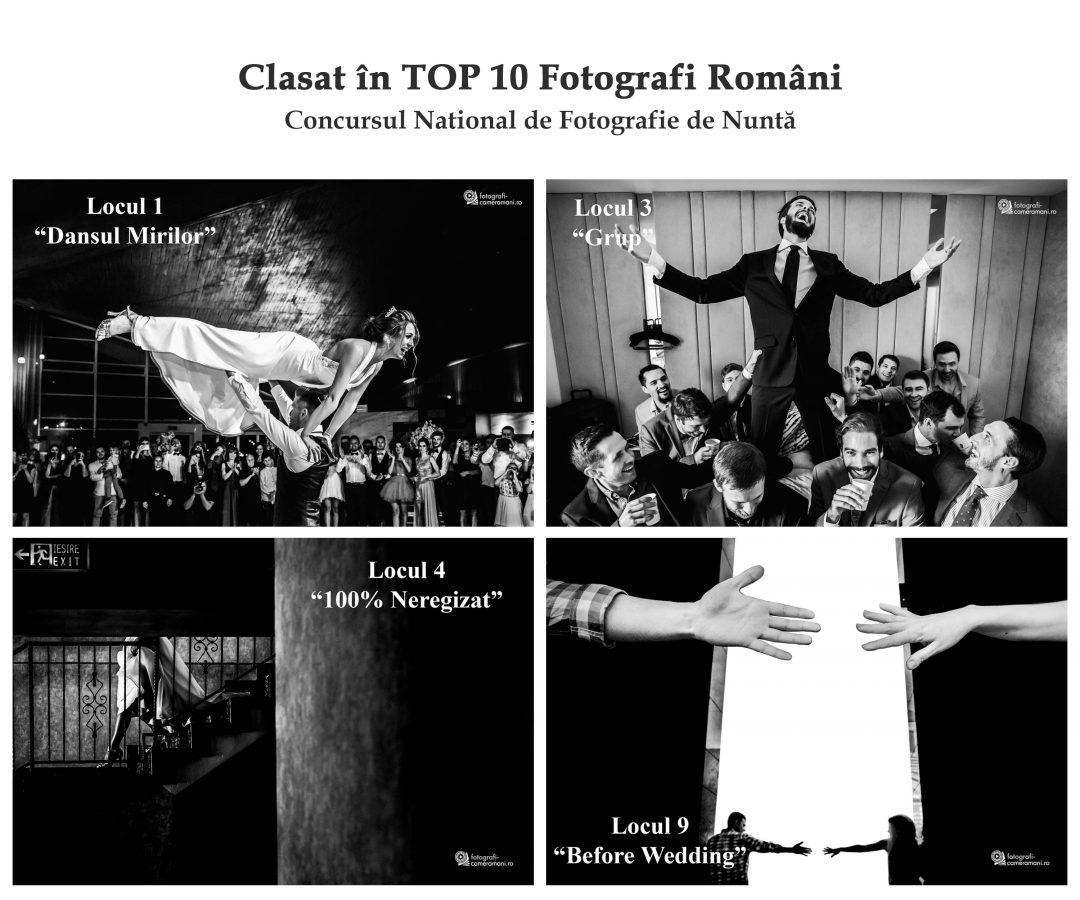 Top 10 cei mai buni Fotografi de nunta - Gala de premiere a concursului national de fotografie de nunta