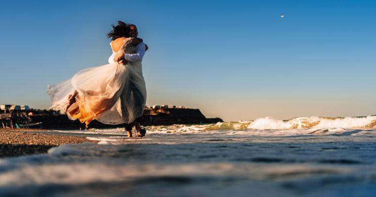 Cristina + Ionut | Trash The Dress – Vama Veche
