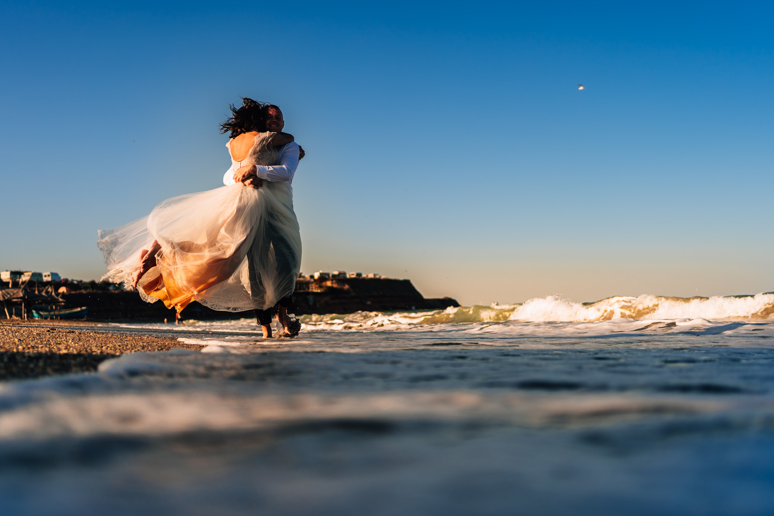 Cristina + Ionut | Trash The Dress – Vama Veche